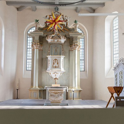 St. Lambertus-Kirche in Brück - Altarraum