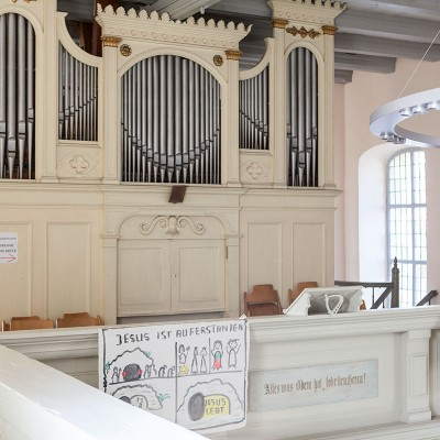 St. Lambertus-Kirche in Brück - die Orgel