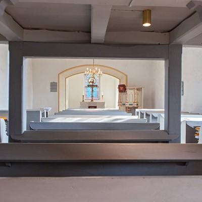 Die Kirche in Gömnigk