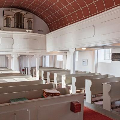 Die Kirche in Neuendorf - Innen