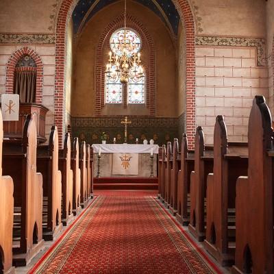 Die Kirche in Trebitz