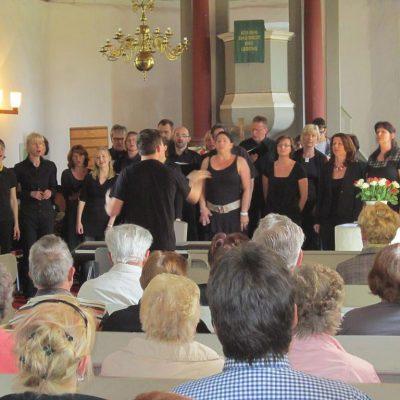 Gospelchor beim Gemeindefest