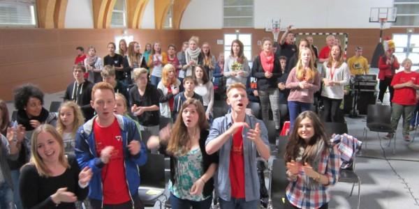Konfirmandencamp in Mötzow 2014 - Musik und Bewegung