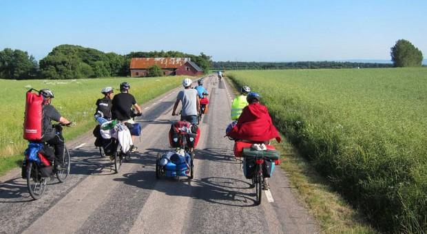 Fahrradtour durch Schweden