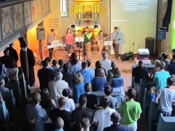 Jugendgottesdienst in Bad Belzig