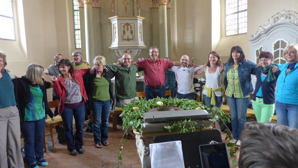 Der Gospelchor - wie eine Mannschaft