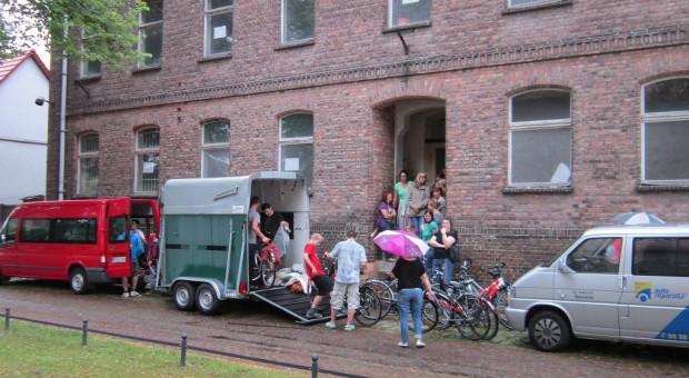 Packen für die Schwedenfahrt 2014