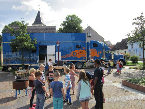 Kinder - und Jugendwoche 2014 in Brück: Kinder am Vormittag
