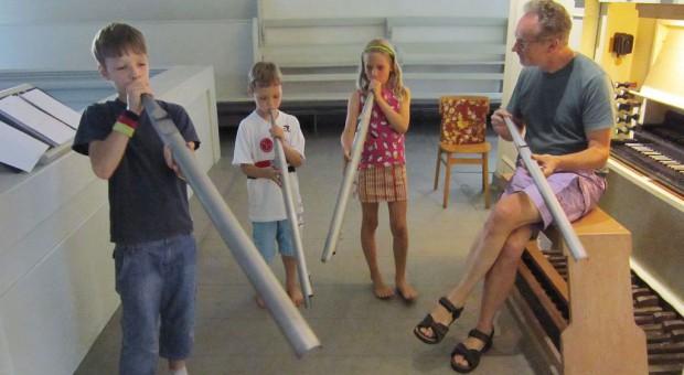 Kinderorgeltage mit Kantor Winfried Kuntz in Brück