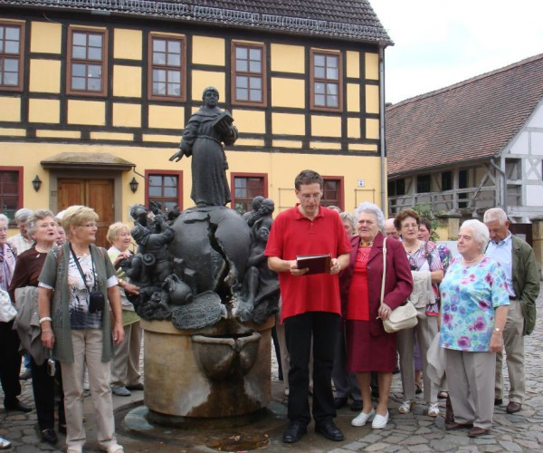 Stifel-Denkmal - Gemeindefahrt nach Annaburg
