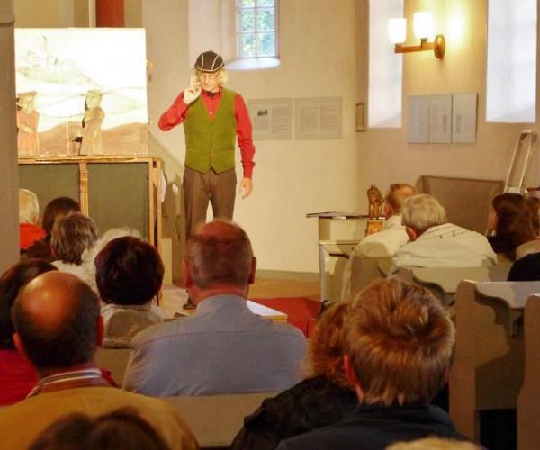 Frank Grünert - Sagenhafter Dr. Luther in der Kirche zu Neuendorf