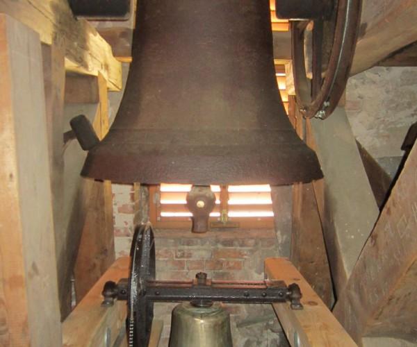 Stifelglocke im Glockenstuhl - Weihung der Stifelglocke 2014