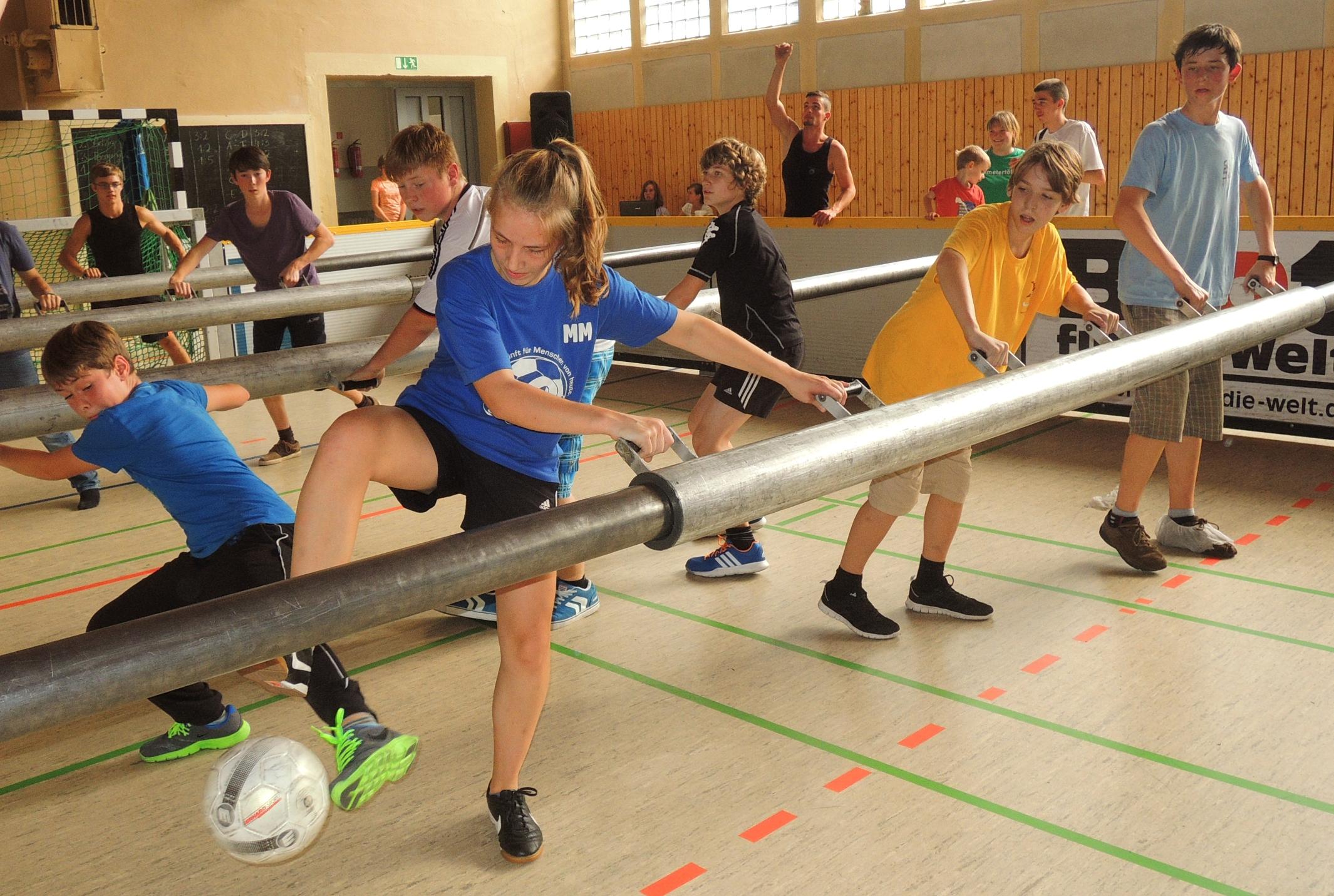 Riesenkicker - JugendEVENT Bad Belzig