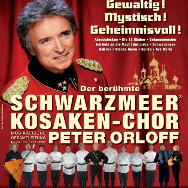 Plakat Peter Orloff und die Don-Kosaken