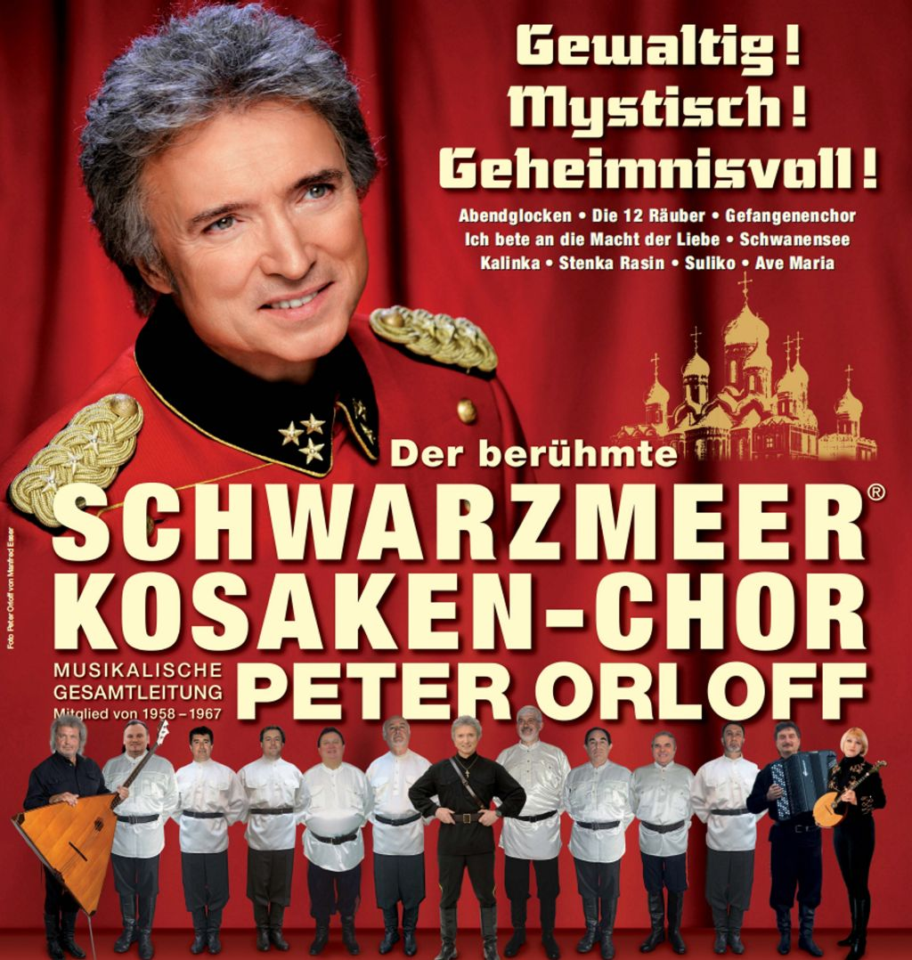 Plakat Peter Orloff
