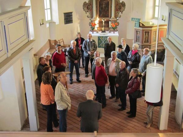 Altbläser der Region treffen sich nach über 60 Jahren in Rottstock zum Wiedersehen und -hören