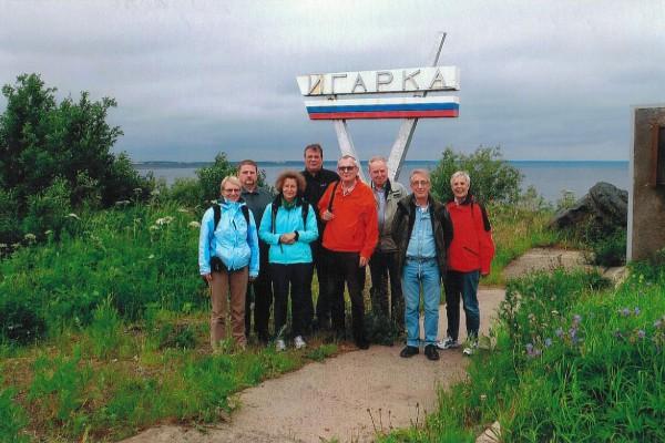 Igarka mit Kurt Hübner - Russlandvortrag beim Gemeindenachmittag