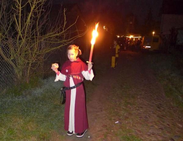 Lutherfest Neuendorf - Prozession in den Abend