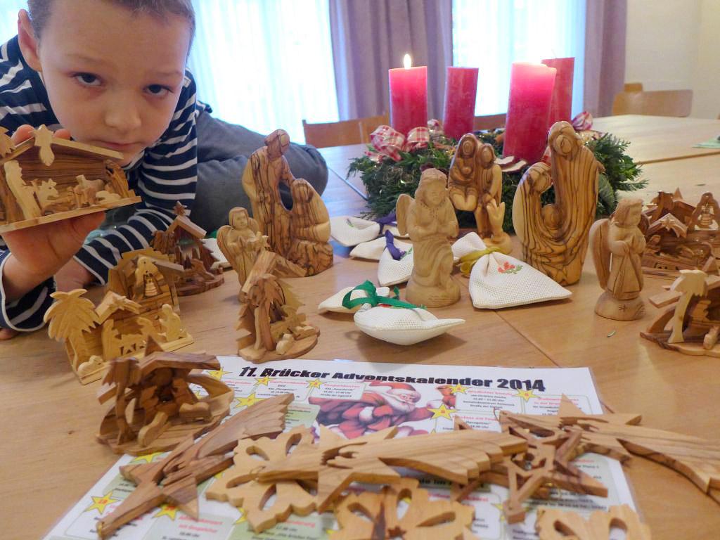 Albert Kautz präsentiert Figuren und Krippen aus Bethlehem
