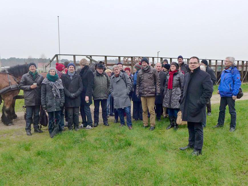 Leiter der Pastoralkollegs der EKD besuchten Pfarrbereich Brück