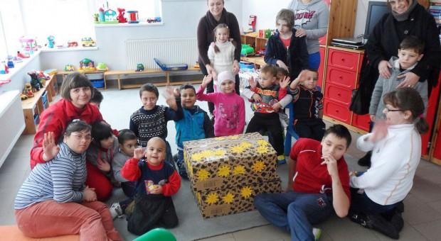 Geschenke für das Kinderheim von Petrosani von den Kindern der christlichen Kita Hasenbande in Brück