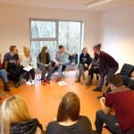 Planung der Nachtwanderung - Vorbereitung auf das Konfirmandencamp 2015 in Mötzow