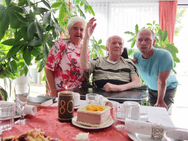 Pfarrer Asse - 80 Geburtstag