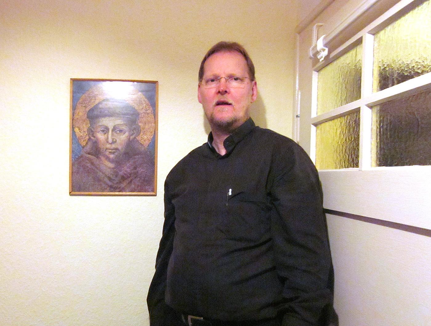 Priester Burkhard Stegemann aus Bad Belzig