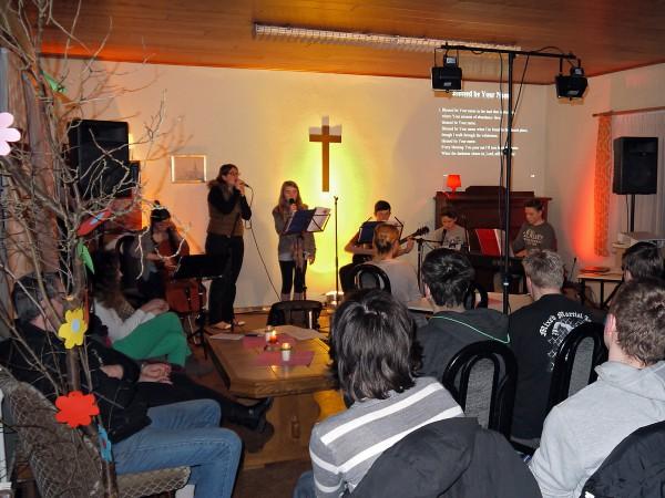 Jugo - Jugendgottesdienst in Rottstock Februar 2015