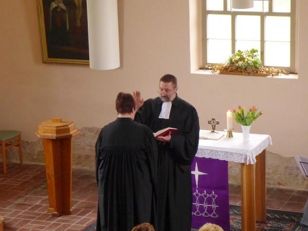 Verabschiedungsgottesdienst für Pfarrerin Hennrich in Alt Bork