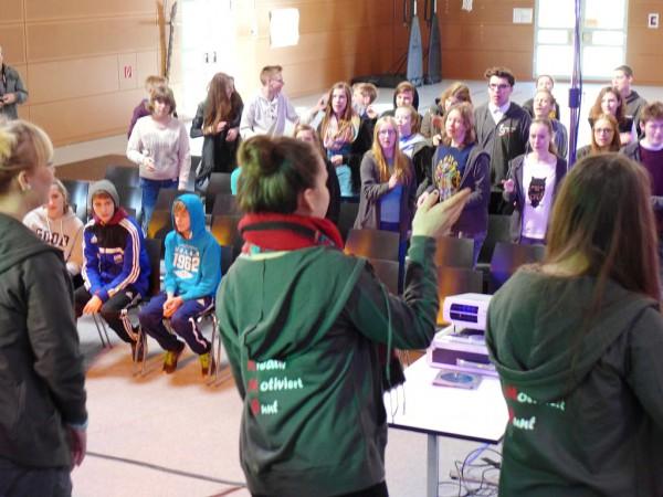 Konfirmandencamp Mötzow: Band und Tanz