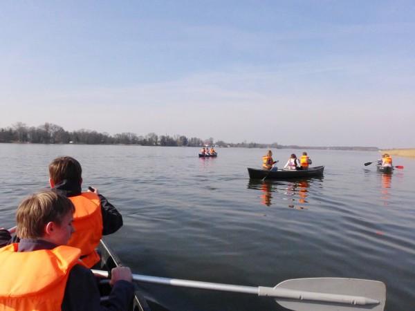 Konfirmandencamp Mötzow: Kanufahrt bei tollem Wetter