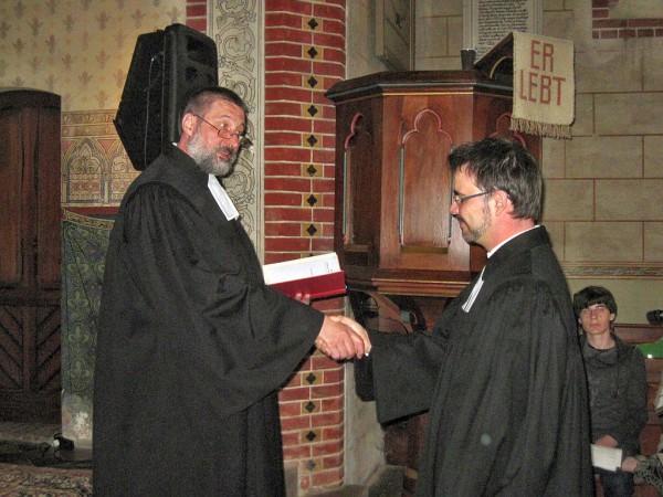 Verabschiedung von Pfarrer Sebastian Mews mit Jugendgottesdienst in Niebel
