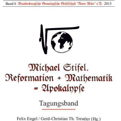 Buch über Pastor Michael Stifel