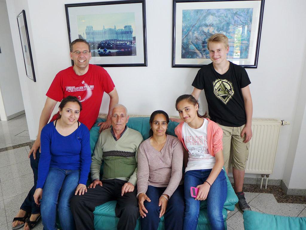 Gemeindenachmittag - Flüchtlingsfamilie