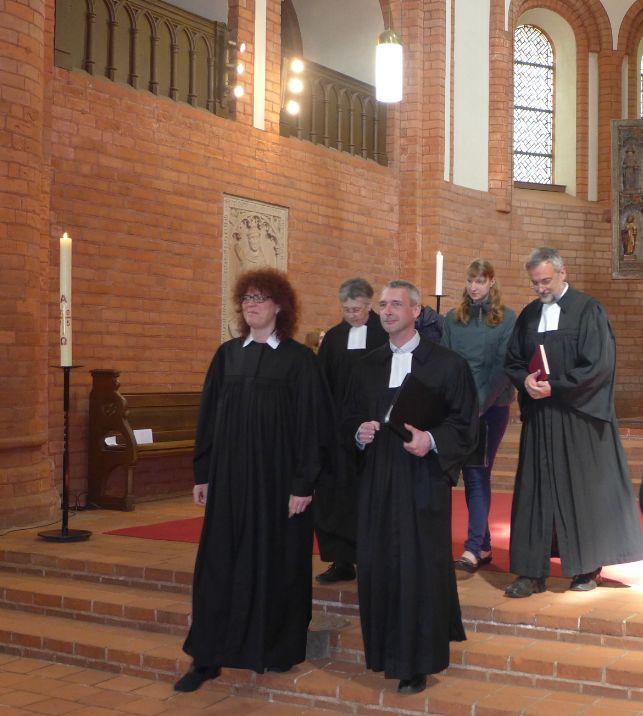 Gottesdienst zur Einführung von Pfarrerin Almuth Wisch
