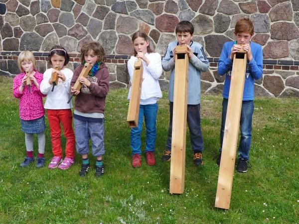 Wie die Orgelpfeifen - Gemeindefest 2015
