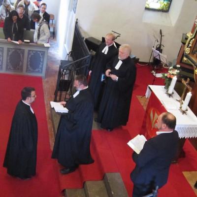 Pfarrer Sebastian Mews in Groß Kreutz eingeführt und gesegnet