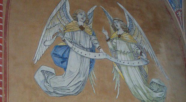 Engeldarstellung Kirche Trebitz