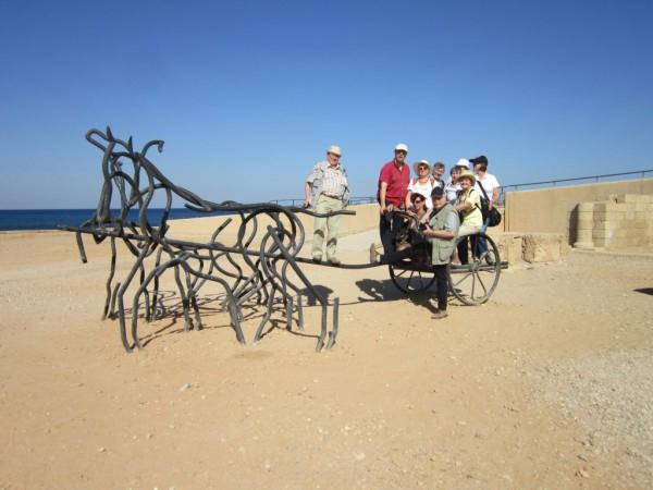 Israelreise - Pferderennbahn der Römer in Caesarea