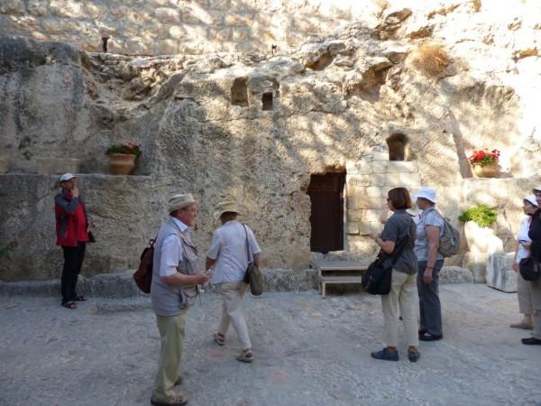 Israelreise - Gartengrab in Jerusalem