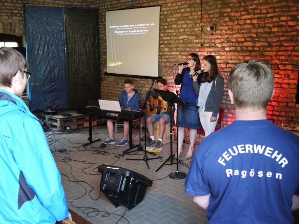 Jugendgottesdienst in Ragösen 2015