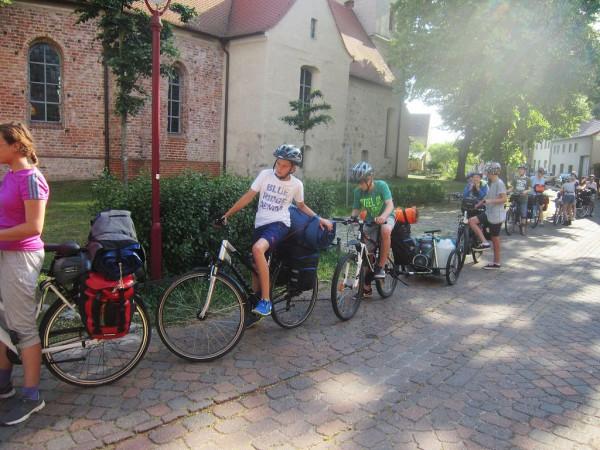 Schwedenvorfahrt Formatieren der Fahrräder