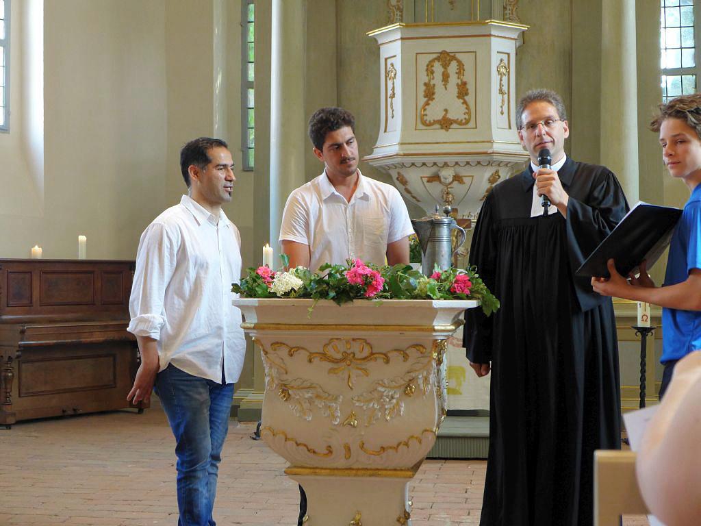 Taufe in Brück