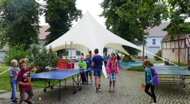 Spielen am Zeilt - Kinder- und Jugendwoche in Brück 2015