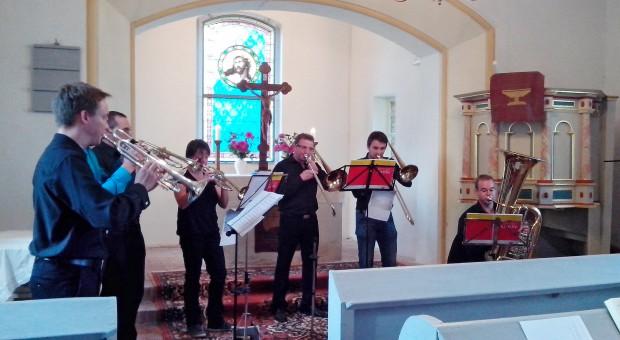 Konzert der Sächsischen Posaunenmission in Gömnigk