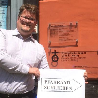 Jugendmitarbeiter Philipp Schuppan