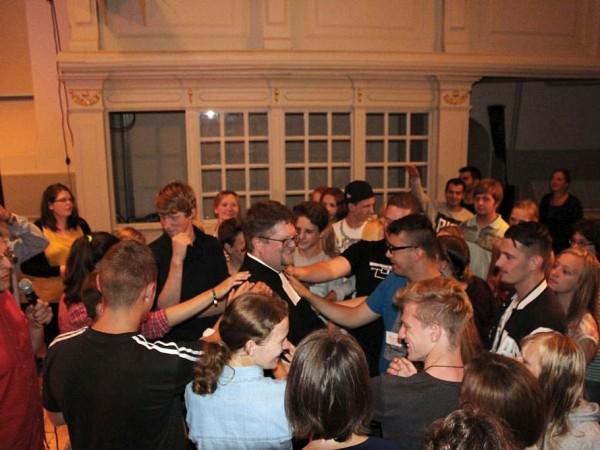 Verabschiedung von Philipp Schuppan - Jugendgottesdienst in Brück