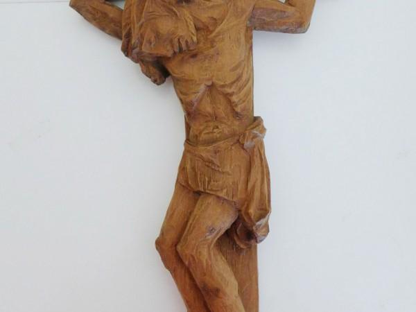 Leidender Christus von Unbekannt in derLambertuskirche zu Brück