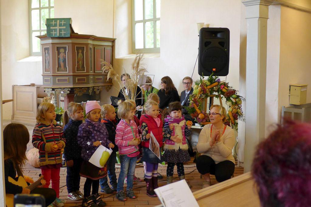 Erntedank-Gottesdienst in Rottstock